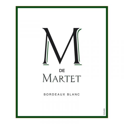 de Coninck Wine Merchant M de Martet - Blanc Bordeaux AOC 2019