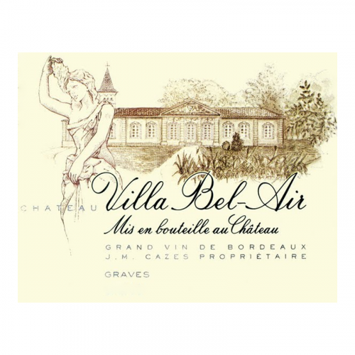 de Coninck Wine Merchant Château Villa Bel Air blanc 2018 - Graves