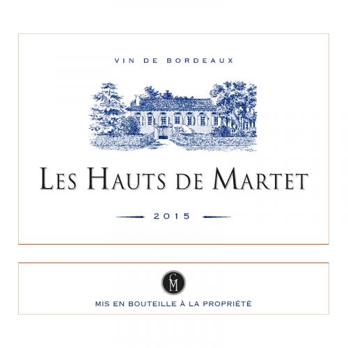 Les Hauts de Martet, Bordeaux 2014