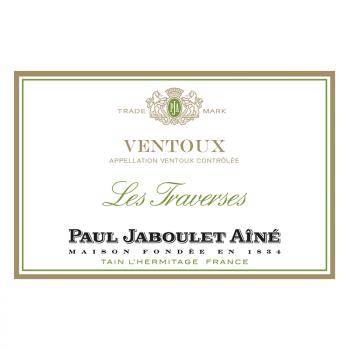 """Paul Jaboulet Aîné - """"Les Traverses"""" - Côtes du Ventoux blanc"""