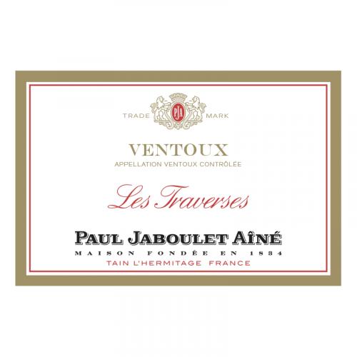 """de Coninck Wine Merchant Paul Jaboulet Aîné - """"Les Traverses"""" - Côtes du Ventoux rouge 2019"""