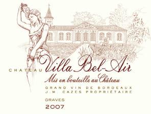 de Coninck Wine Merchant Château Villa Bel Air - Graves 2018 Double Magnum