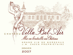 de Coninck Wine Merchant Château Villa Bel Air - Graves 2018 5L