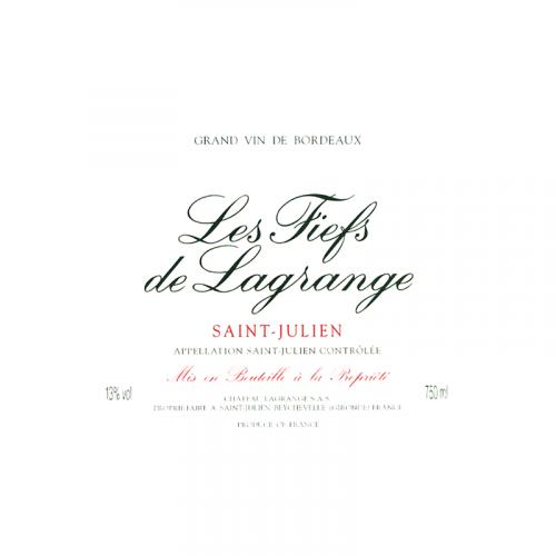 Les Fiefs de Lagrange - Saint Julien - 2017