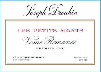 de Coninck Wine Merchant Joseph Drouhin - Vosne-Romanée Petits Monts Premier Cru 2018 BIO