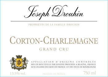 Joseph Drouhin Corton-Charlemagne Grand Cru 2017