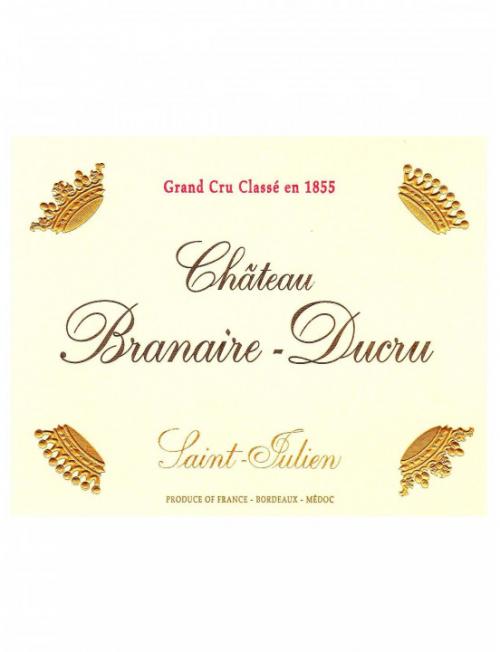 Château de Branaire Ducru - Saint Julien 2015