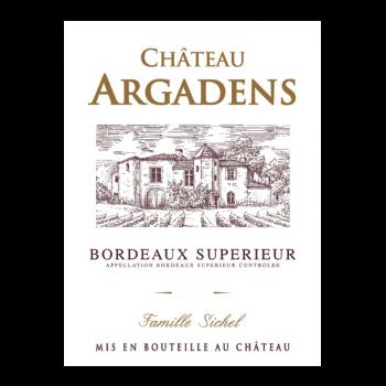Château d'Argadens, Bordeaux Supérieur 2016