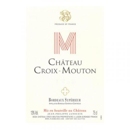 Château Croix Mouton, Bordeaux Supérieur 2012