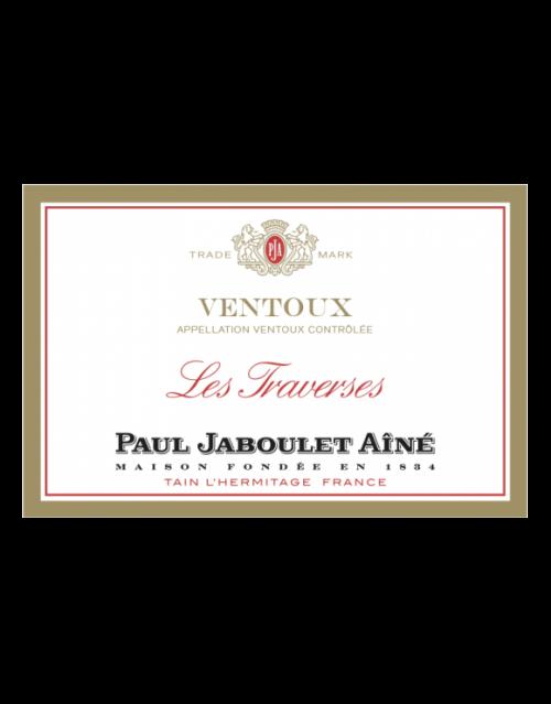 """de Coninck Wine Merchant Paul Jaboulet Aîné - """"Les Traverses"""" - Côtes du Ventoux rouge 2017/2018 BIO Magnum 1.5l"""