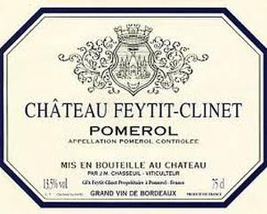 Château Feytit-Clinet - Pomerol 2019
