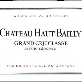 Château Haut-Bailly Cru Classé de Graves - Pessac-Léognan 2019