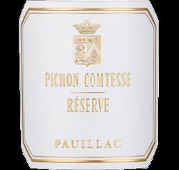 Réserve de Pichon Comtesse - 2ème vin Château Pichon Comtesse - Pauillac 2019