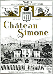 de Coninck Wine Merchant Château Simone - Palette Blanc 2019