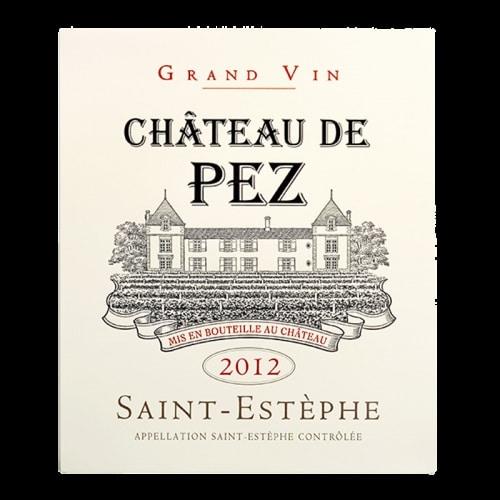 de Coninck Wine Merchant Château de Pez - Saint-Estèphe 2014
