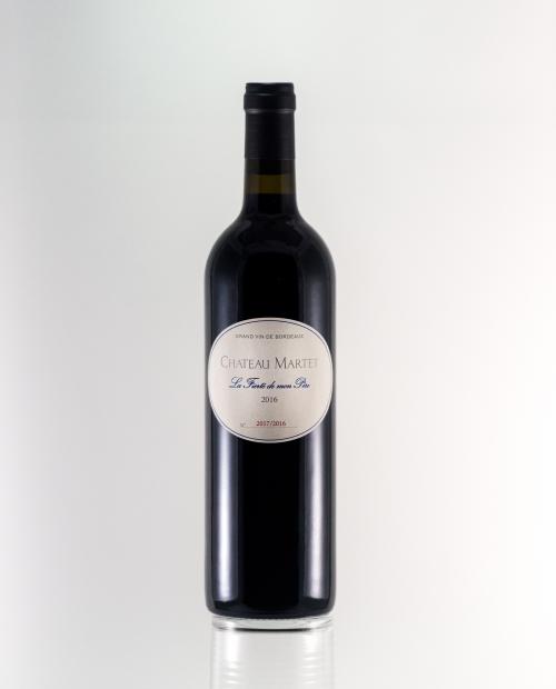 """de Coninck Wine Merchant Château Martet """"Fierté de mon Père"""" 2016 - Sainte-Foy-Bordeaux"""