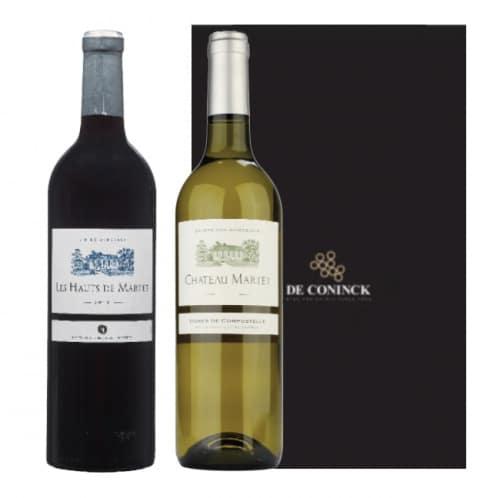 Coffret Martet Hauts de Martet & Vignes de Compostelle