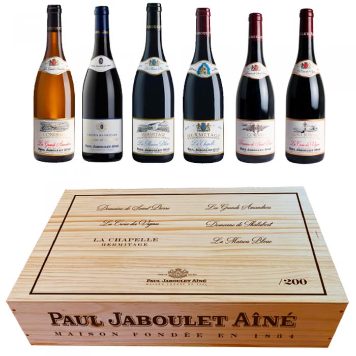 Paul Jaboulet Aîné - Coffret «Grands Domaines» 2018
