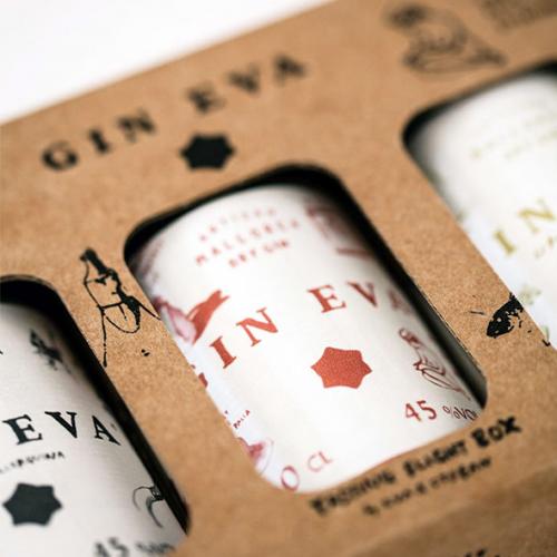 de Coninck Wine Merchant Gin Eva - The Tasting Flight Box 3x0,1L