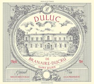 de Coninck Wine Merchant Duluc de Branaire-Ducru - Saint Julien 2017