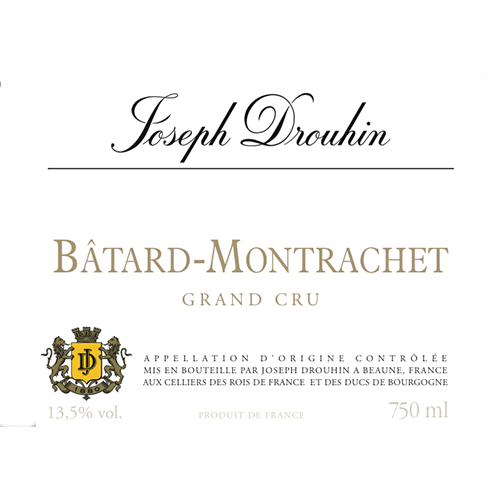 de Coninck Wine Merchant Joseph Drouhin Batard-Montrachet Grand Cru 2018