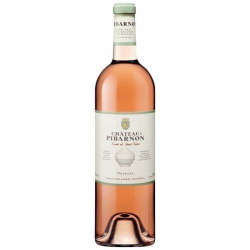 Bandol chateau-pibarnon rosé nuances deconinck wine