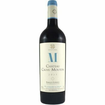 croix mouton 2015 deconinck wine
