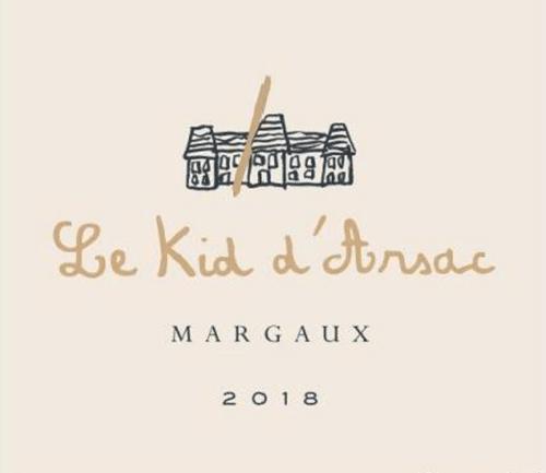 de Coninck Wine Merchant Le Kid d'Arsac 2018 2nd vin du Château d'Arsac
