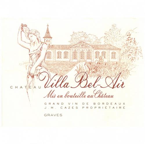 de Coninck Wine Merchant Château Villa Bel Air - Graves 2020 (caisse de 6 bout.)