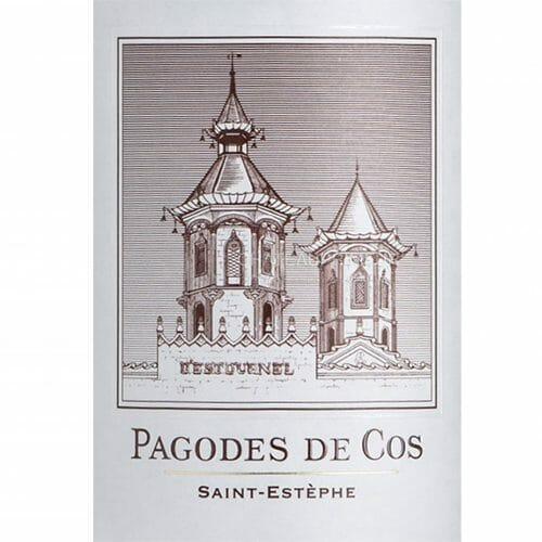 de Coninck Wine Merchant Pagodes de Cos, Saint Estèphe, 2020 ( caisse de 6 bout.)