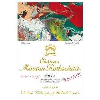 chateau mouton rothschild 2015 deconinckwine