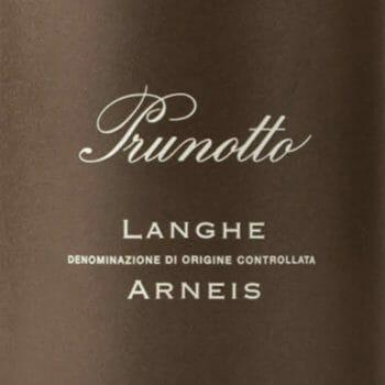 langhe arneis prunotto etiquette deconinck wine